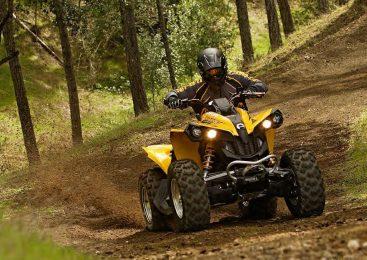 Квадроцикл Can-Am Renegade. Отступник