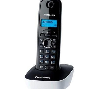 Телефон DECT PANASONIC KX-TG1611UAW