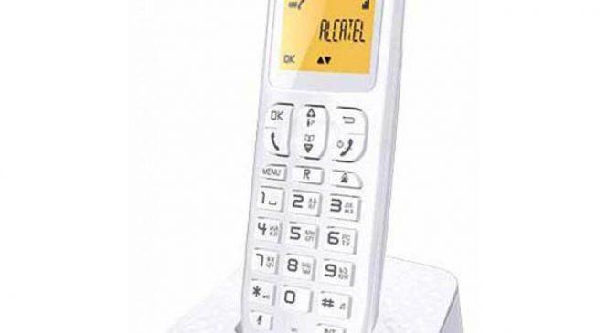 Телефон DECT Alcatel E132 White (3700601415605)