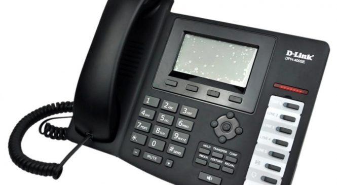 IP телефон D-Link DPH-400SE/F4