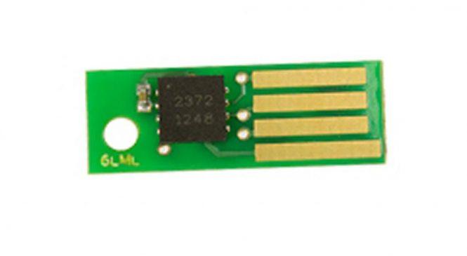Чип для картриджа Xerox Phaser6500 (106R01603) Static Control (X6500CP-YLA)