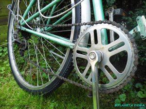 Серьезные дефекты — обрыв цепи на велосипеде