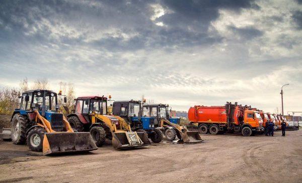 Спецтехника для строительных и земляных работ