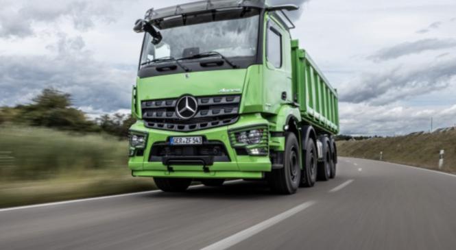 Новый Mercedes-Benz Arocs — инновационный строительный автомобиль