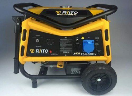 Асинхронные генераторы  . Бензиновый генератор Rato R 6000 WЕА