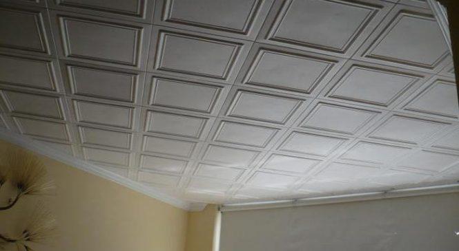 Всё о потолочных плитках