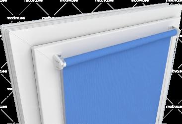 Рулонные шторы открытого типа – стандартная солнцезащитная система